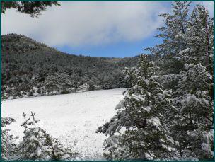 Sierra de Guara sous la neige